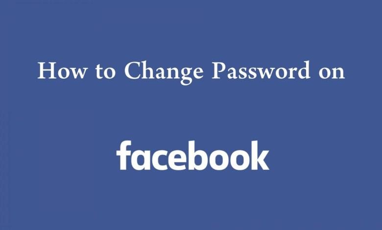 Change Password On Facebook