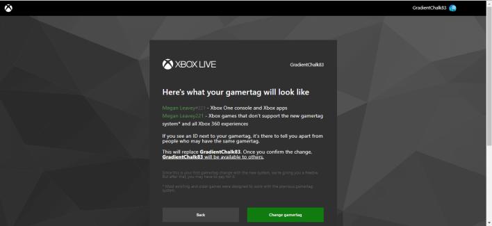 Change Xbox Gamertag