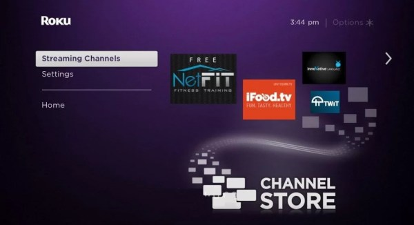 Choose Streaming Channels