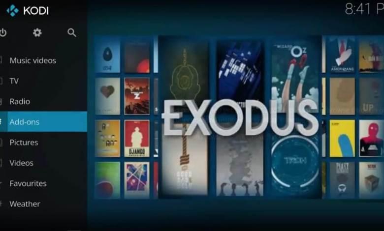 Exodus Kodi Addon on Firestick