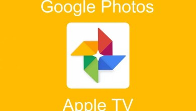 Google Photos on Apple TV