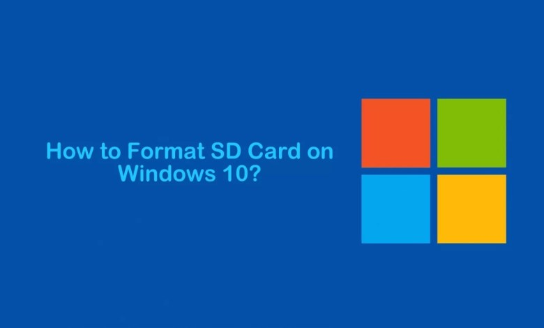 How to Format SD Card on Windows 10