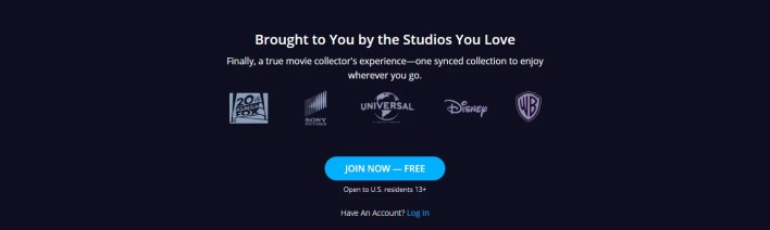 Movies Anywhere Supported Studios