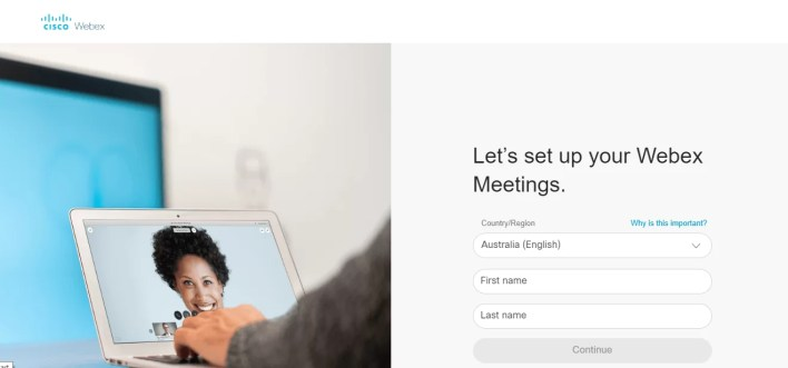 Sign Up for Cisco Webex Meetings