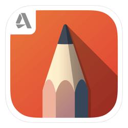 Autodesk Sketch Book-Best iPad Apps for Designers