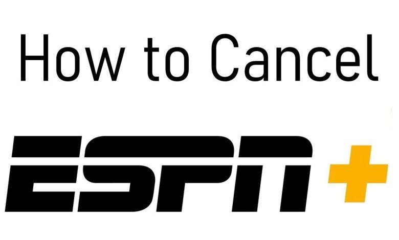 Cancel ESPN Plus