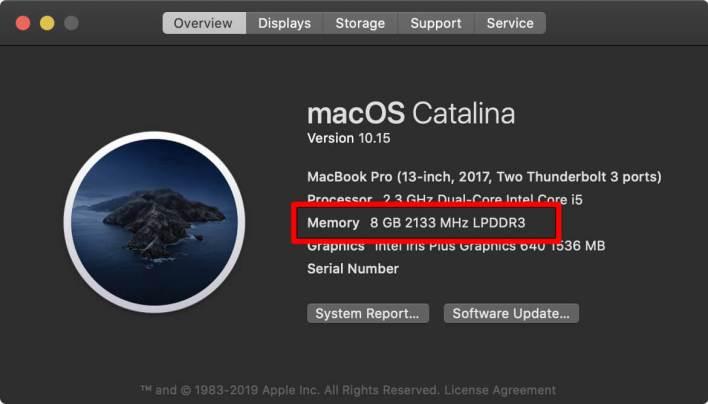 Mac-  RAM (Random Access Memory)-