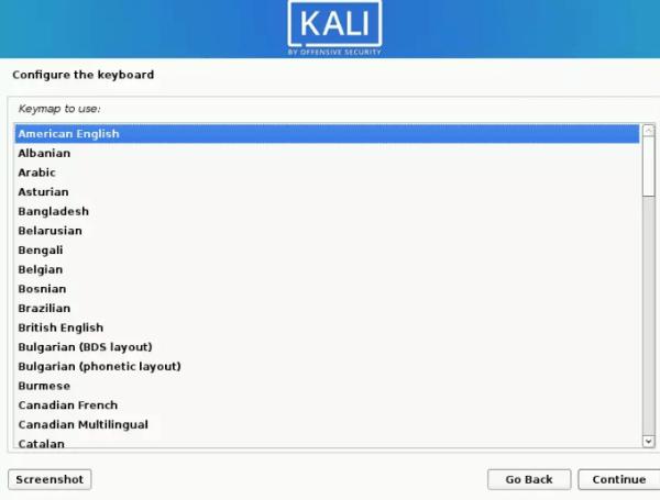 Configure Keyboard Language