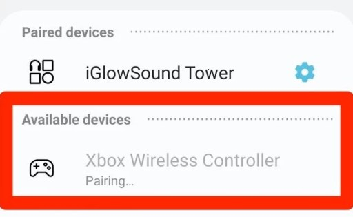 Connect Xbox One Controller to Android via Bluetooth