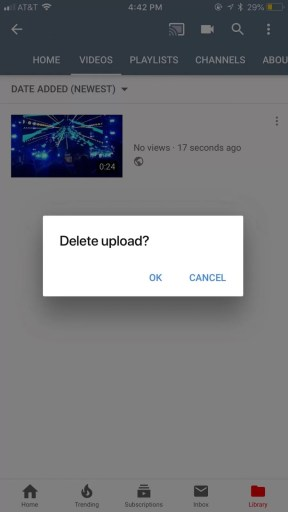 How to Delete a YouTube Video