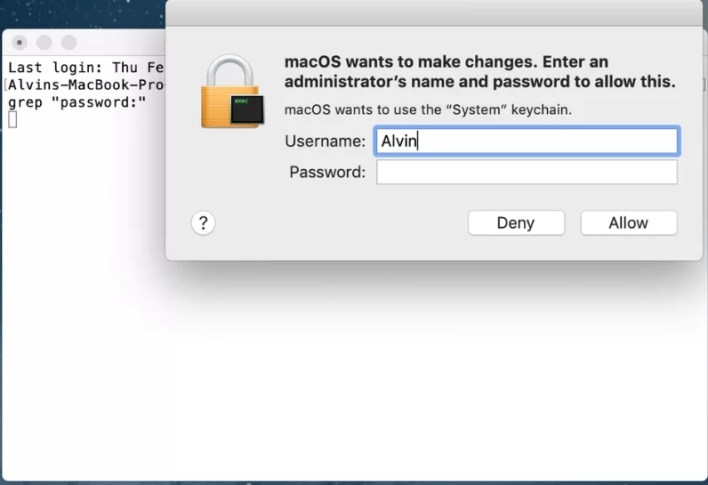 Find WiFi Password on Mac