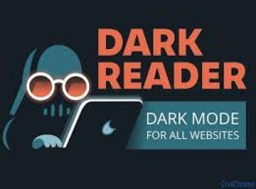 Dark Reader extension