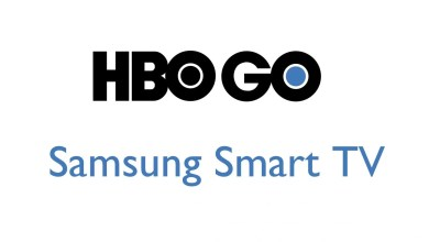HBO Go on Samsung TV