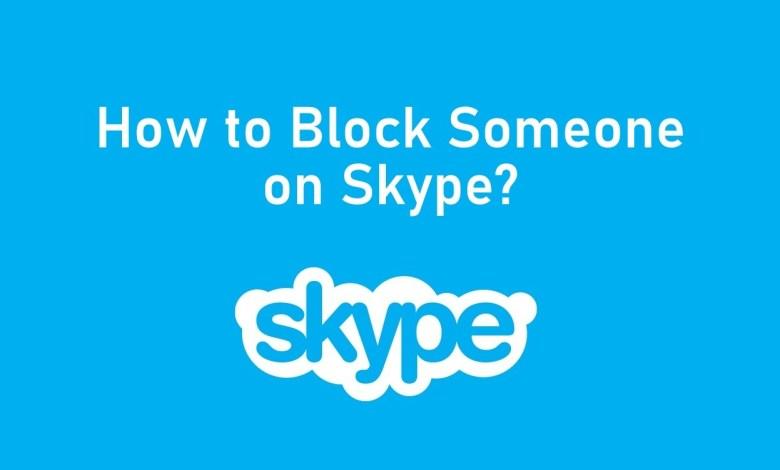 How to Block Someone on Skype