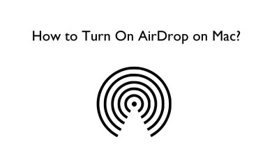 How to Turn On AirDrop on Mac