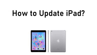 How to Update iPad