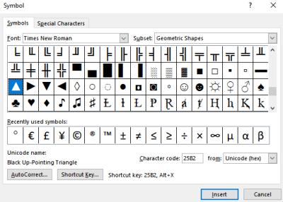 Select Arrow Symbol-Arrow Keyboard Symbol