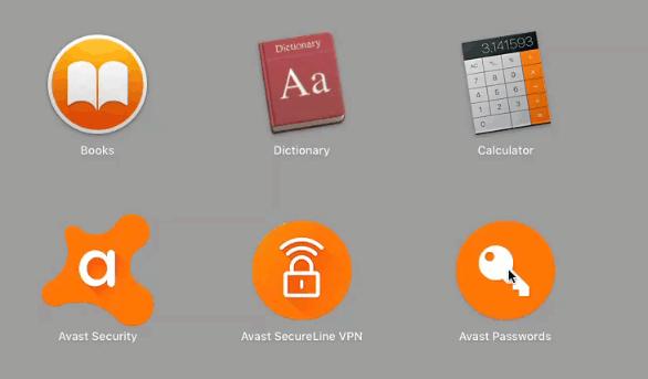 Select Avast Password