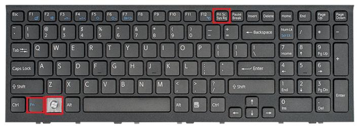 Take a screenshot on a Dell