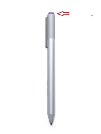 Take screenshot using Surface Pro pen