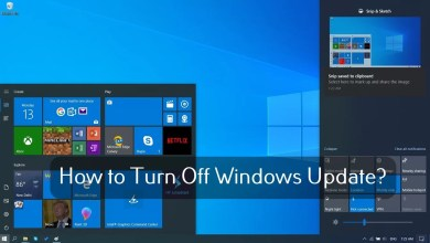 Turn Off Windows Update