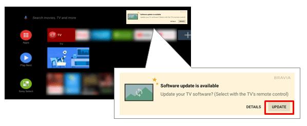 Update Sony TV