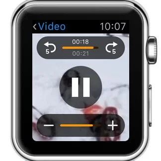 YouTube Videos on Apple Watch