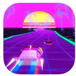Neon Drive - Best Racing Games for iPhone & iPad