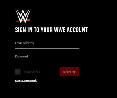 Cancel WWE Network on Web