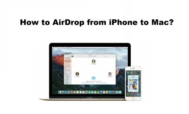 How to AirDrop from iPhone to Mac