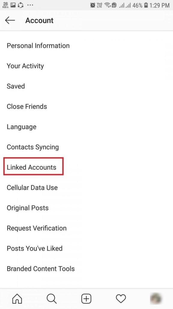 How to Unlink Instagram from Facebook-4
