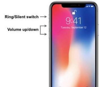 Press Volume Down button