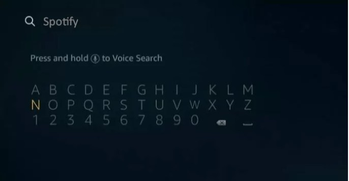 Search spotify - How to Use Spotify in Amazon Firestick