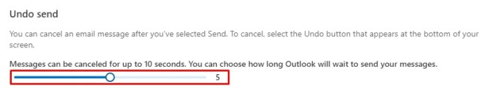 Set time - How to Recall an Email in Outlook
