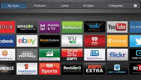 Select My Apps-Plex on Vizio TV