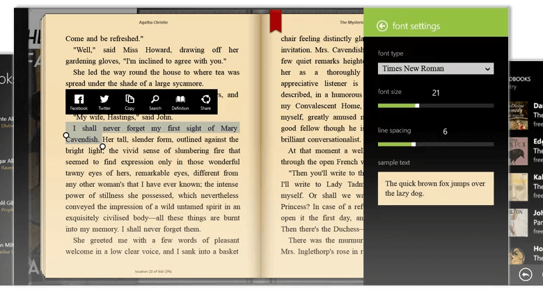 Best Epub Reader for Windows