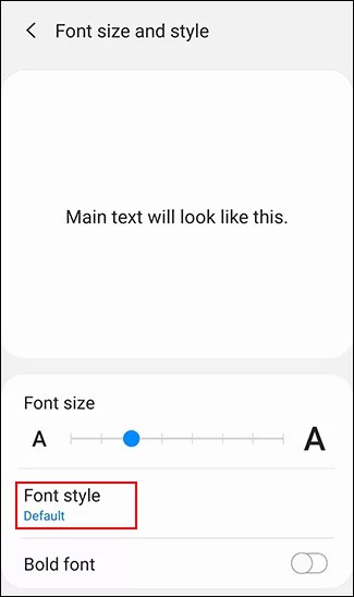 Change Font on Android