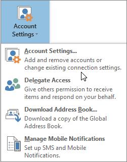 Change Password on Outlook