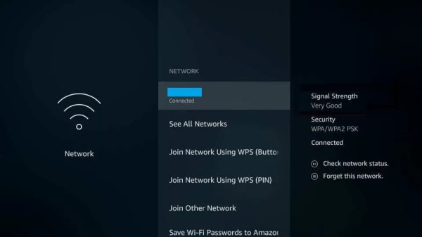 Check Signal Strength to Stop Buffering on Firestick