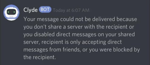 Cylde bot alert - How to Tell Someone Blocked you on Discord