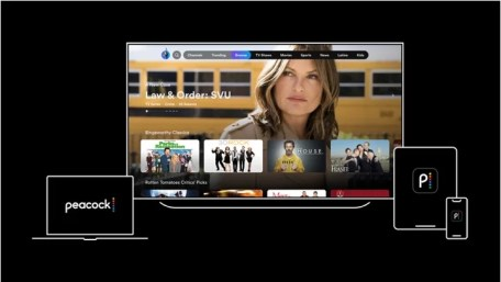Peacock TV on Samsung Smart TV