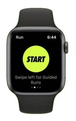 Start - How To Use Nike Run Club On Apple Watch