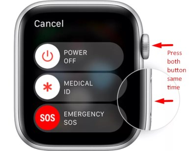 Hard reboot - How To Change Apple ID on Apple Watch