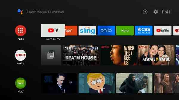 Highlight Apps to get Hulu on Sharp Smart TV