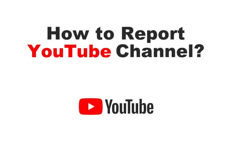 How to Report YouTube Channel 1