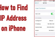 Photo of How to Find IP address on iPhone [Two Simple Ways]