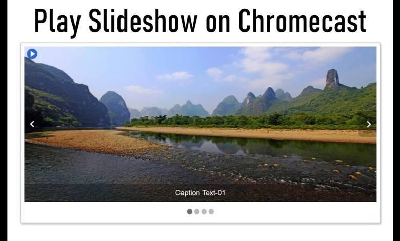 Chromecast Slideshow