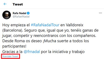 Translate Tweet