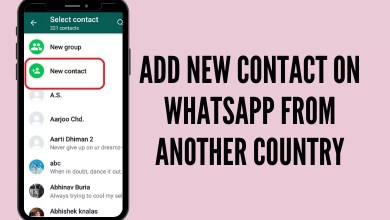 How to Add Someone on WhatsApp from Another Country