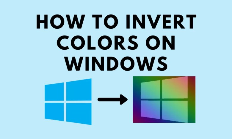 How to Invert Colors on Windows